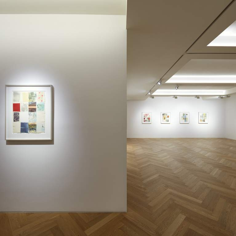 Installation View, Robert Rauschenberg Against the Grid